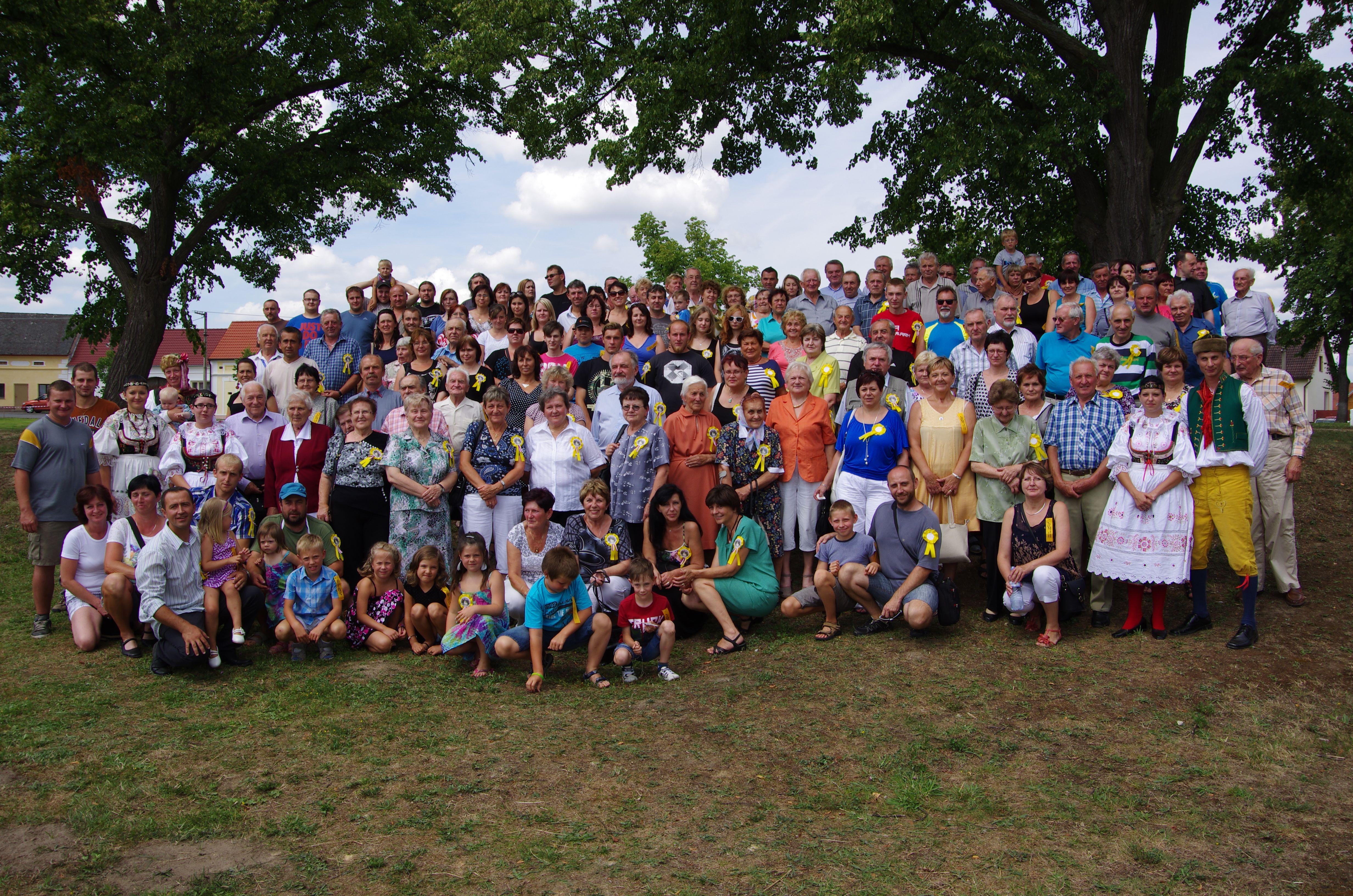 První setkání rodáků a přátel obce u příležitosti 660. výročí obce
